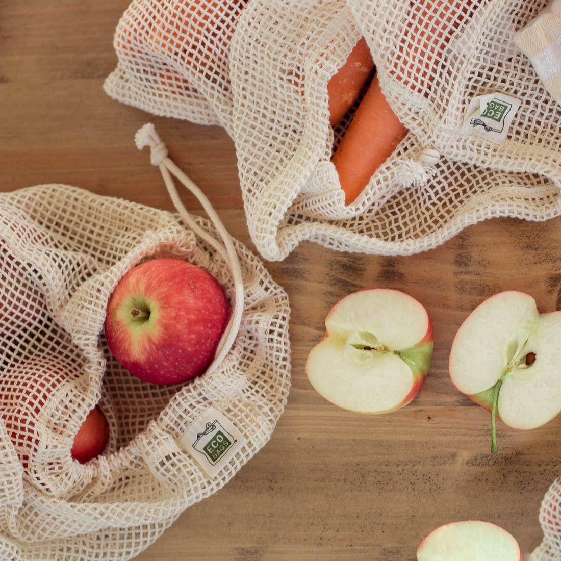 Mesh Produce Bags Produce Bags Reusable Produce Bags Eco Bag
