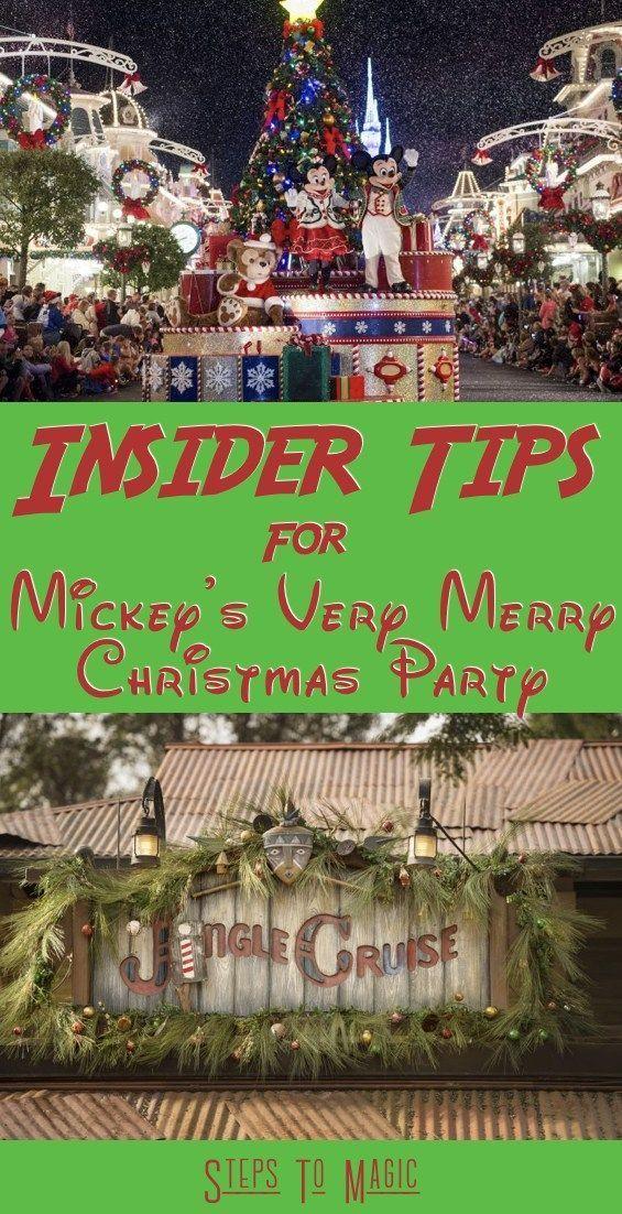 Top 15 \u201cMust Know\u201d Insider Tips for Mickey\u0027s Very Merry Christmas