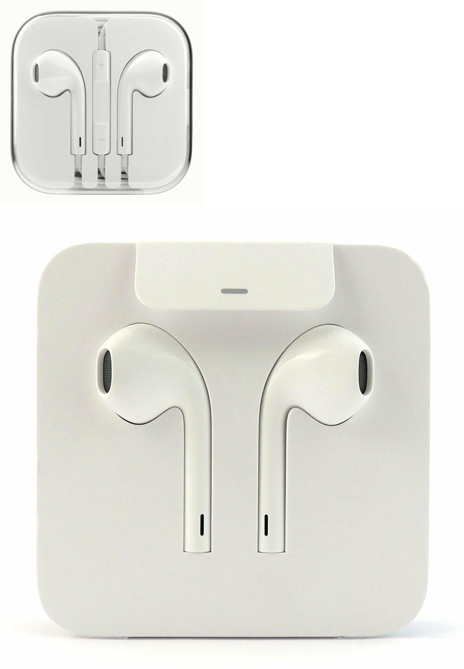 Apple Earpods Earphones Iphone 11 12 Xs Max Xr 8 7 6 Remote Mic New Original Apple Headphone Iphone Apple