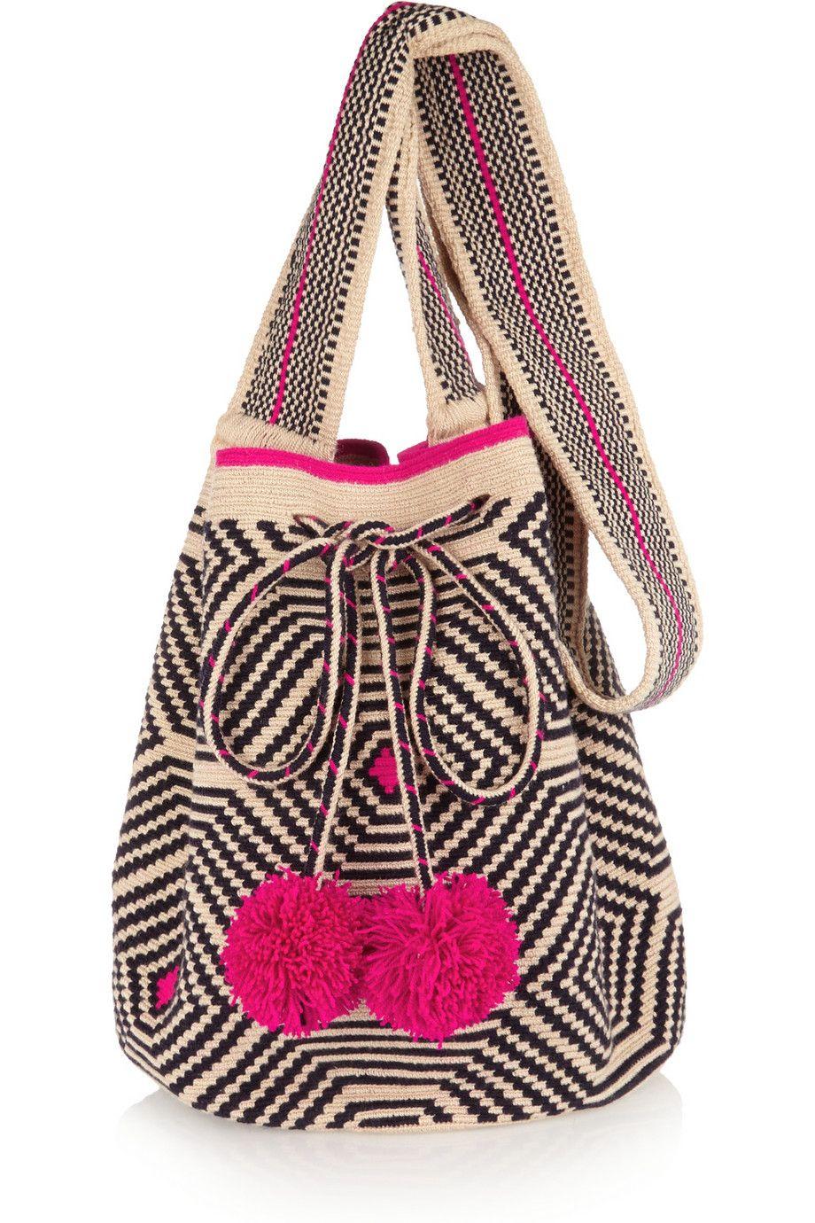 Sophie Anderson Lilla crocheted cotton shoulder bag #THEOUTNETpostcards