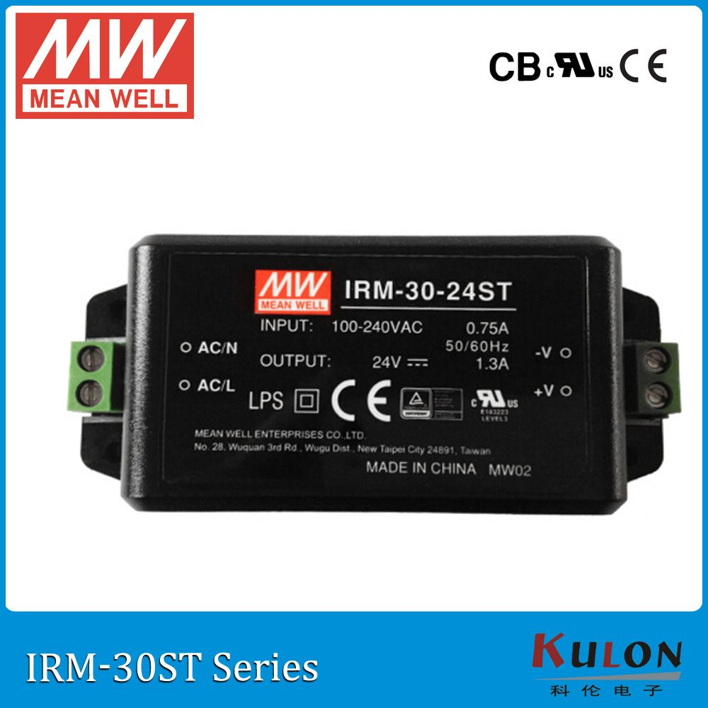 Original Mean Well Irm 30 12st Single Output 2 5a 12v 30w Screw Teriminal Meanwell Power Supply Irm 30 Electrical Equipment Power Power Supply