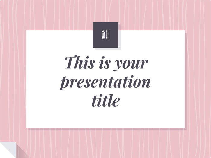 ophelia free presentation template free slide templates