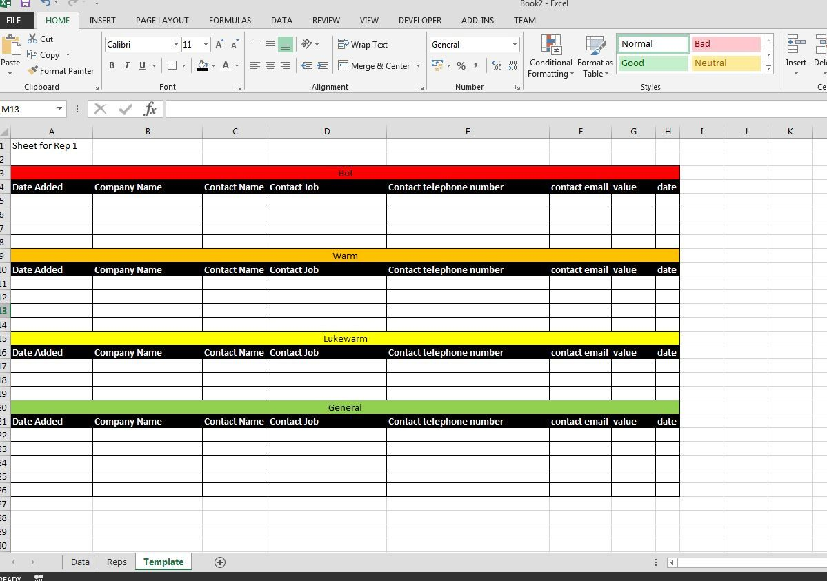 Spreadsheet Sales Report Template Excel Collections ...