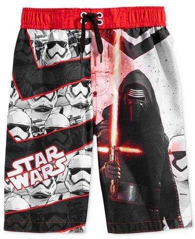 a87578ba62885 Star Wars Little Boys' Dark Side Swim Trunks | birthday themes ...