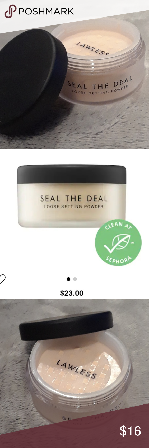 Lawless Seal The Deal loose setting powder NWT (With