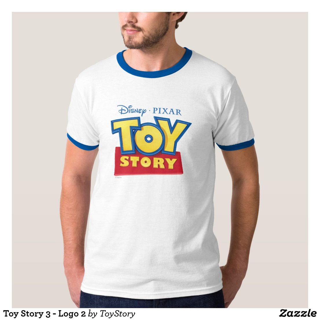 8666a559f4eea7 Toy Story 3 - Logo 2 T-Shirt. Whether you look up to the lovable Woody or  the mischievous Buzz Lightyear, kids and adults alike will adore the cool  ...