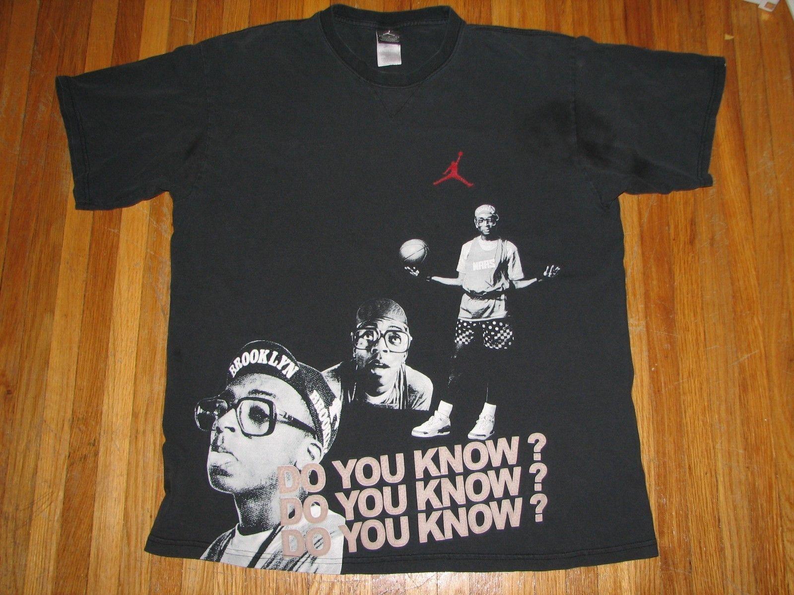 KnowVintage Air Shirt Jordan Lee Spike Michael Do You Basketball iOPuZXkT