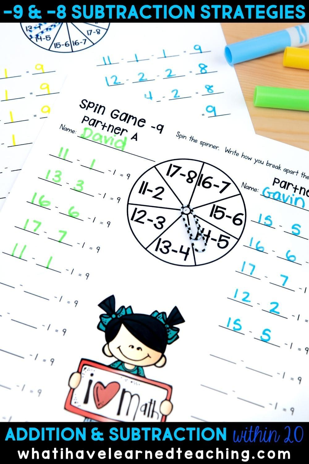 Addition And Subtraction Within 20 Make 10 Add 10 Use 10 To Add Use 10 To Subtract In 2021 Addition And Subtraction First Grade Worksheets Elementary Math Classroom [ 1500 x 1000 Pixel ]