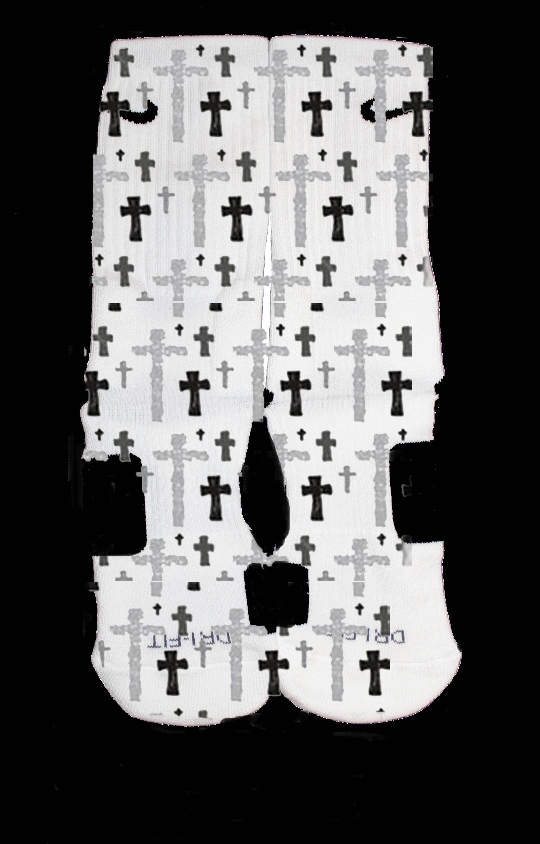 The Sickest Socks New Cross Nike Custom Elites Nike Socks Adidas Shoes Women Cute Socks