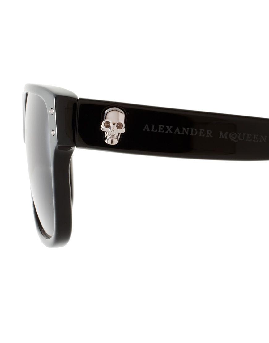 0445cc2476 Alexander McQueen Skull Wayfarer Sunglasses