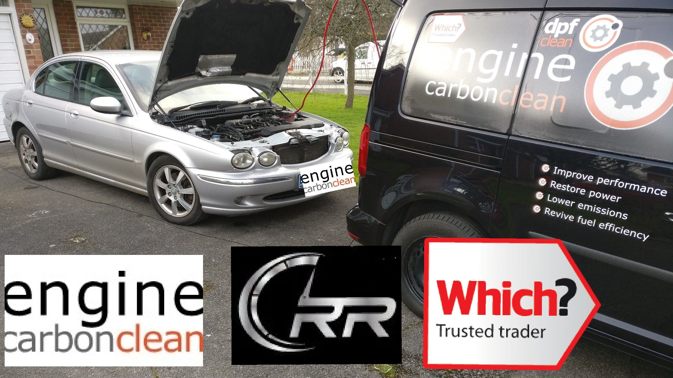 Called to help with issues on this Jaguar X-Type 2 0 D  The day