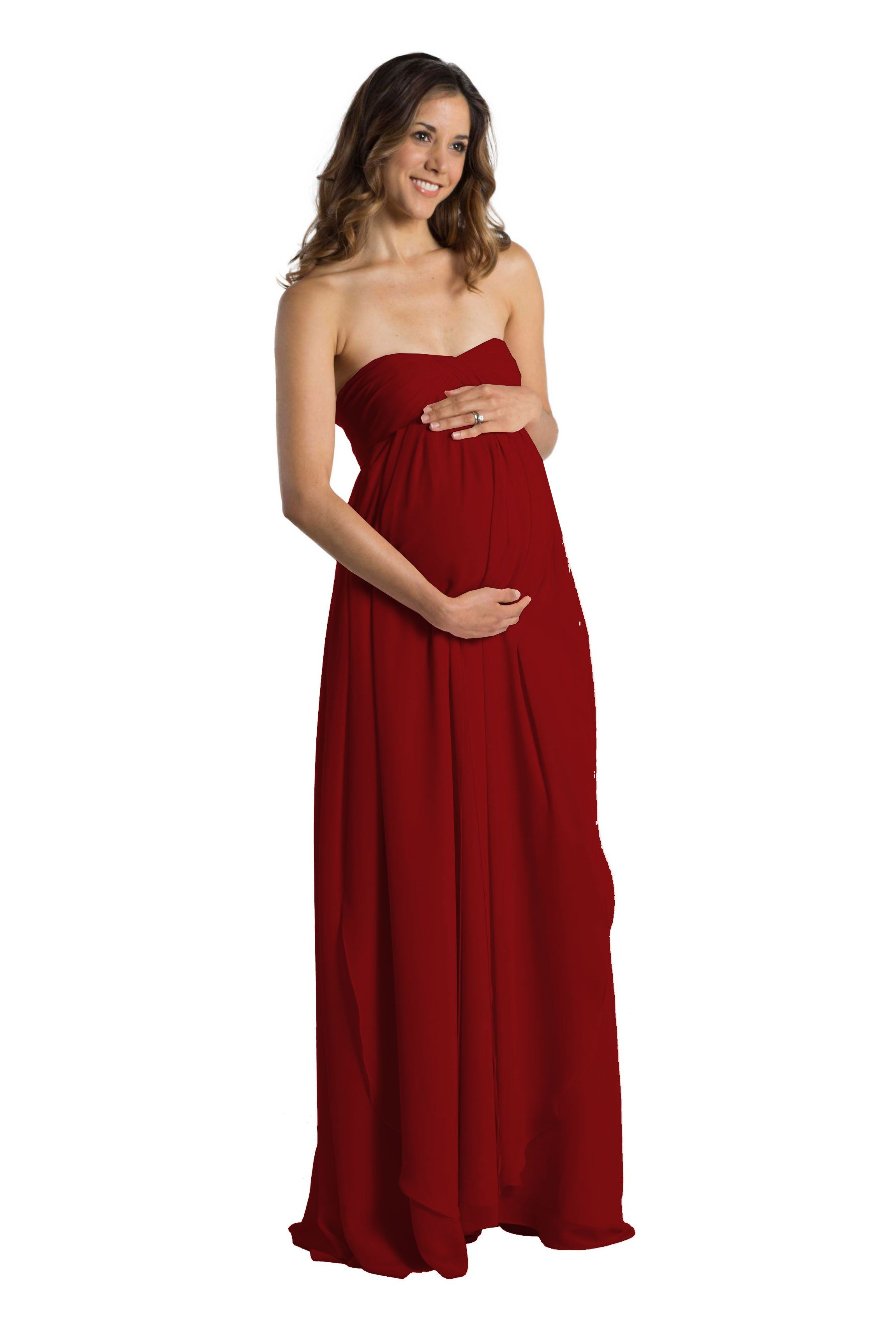 c3500635faed Jenny Yoo's Cerise dress is the maternity version of -- and perfect  companion to -