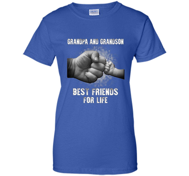 Grandpa and grandson best friend for life T Shirt shirt