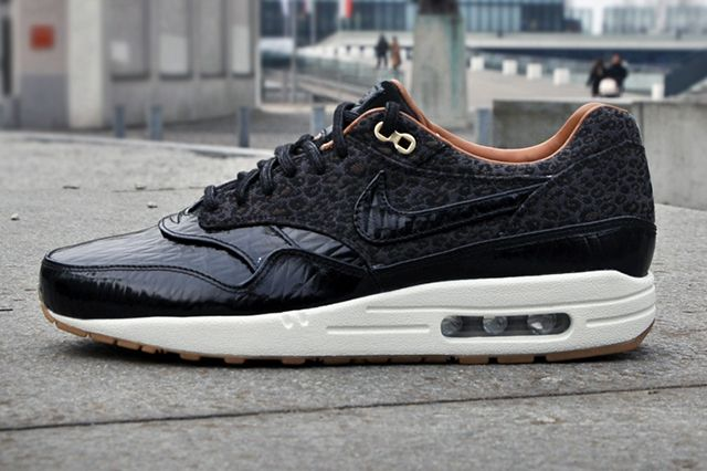 nike air max 1 black leopard buy and sell