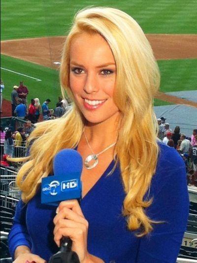 The Most Beautiful News Anchors In The World   Britt mchenry