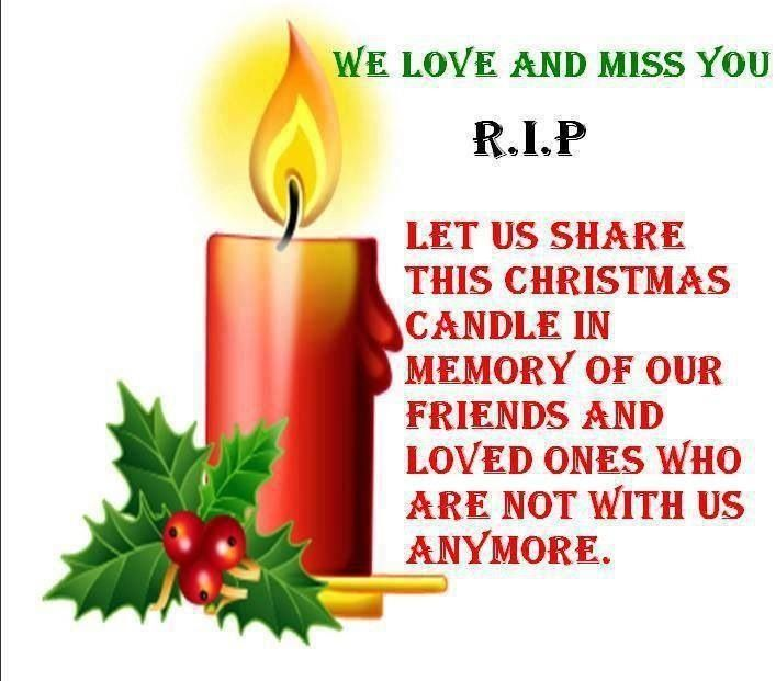 Download My loved ones in Heaven.. | Christmas candle, Mom i miss ...