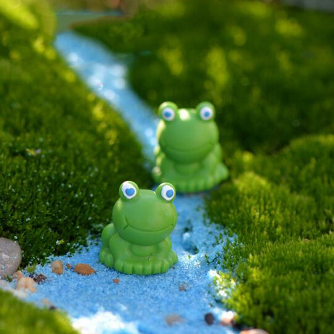Hot Sale 1Pc Miniature Frog DIY Resin Fairy Garden Craft Decoration ...