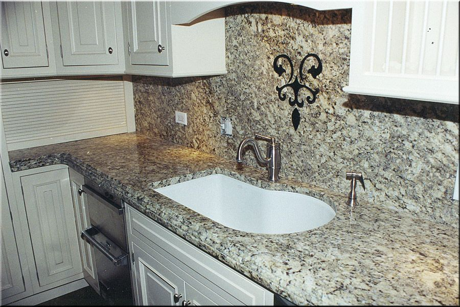 Azule Platino granite House - Paint, Counters, and Backsplashes - granit arbeitsplatte küche