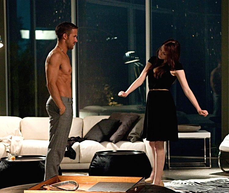 """Ryan and Emma in """"Crazy Stupid Love"""""""