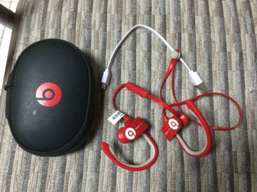 Beats by Dr. Dre Powerbeats2 Wireless Ear-Hook Wireless Headphones - Red https://t.co/aNzDT8q7XP https://t.co/VWfBfcubcd