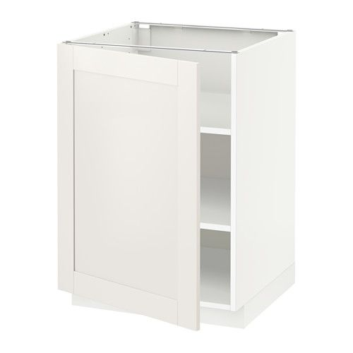 metod base cabinet with shelves white voxtorp base cabinets and shelves. Black Bedroom Furniture Sets. Home Design Ideas