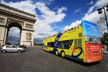 Paris Hop On Hop Off Combo Sightseeing Bus And Seine River Cruise Sightseeing Bus Seine River Cruise Tours