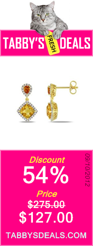 Sterling Silver Earrings (.2 Cttw, G-H Color, I2-I3 Clarity) $127.00