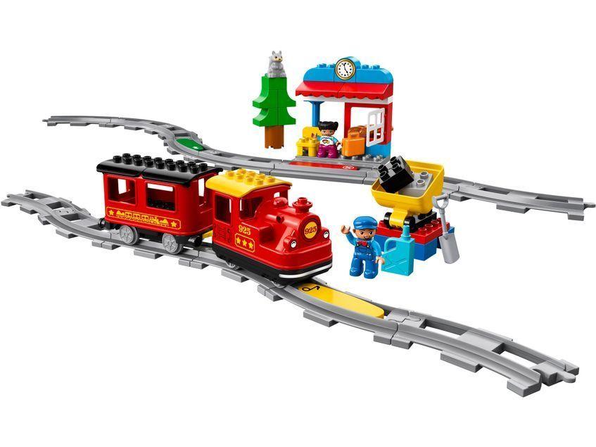 LEGO DUPLO 10874 Поезд на паровой тяге с железной дорогой - отзыв ...