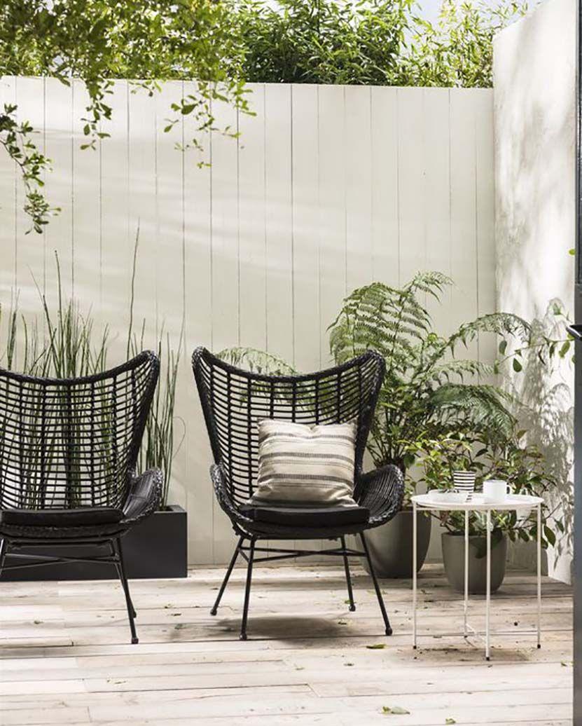 30 Assises En Rotin Pour Sublimer Nos Exterieurs En 2020 Mobilier Jardin Chaise De Jardin Mobilier De Balcon