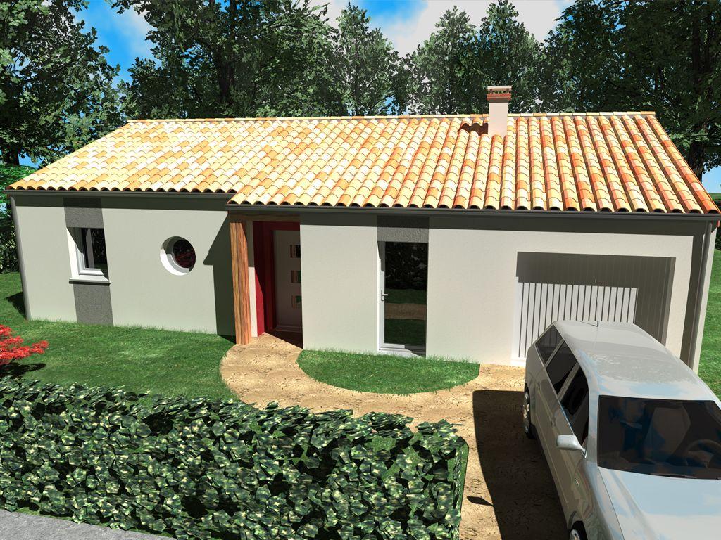 Maison de plain-pied avec 3 chambres et un garage par Alliance ...