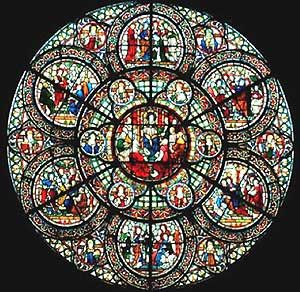 Stained Glass Windows In Cathedrals I Believe This Is England