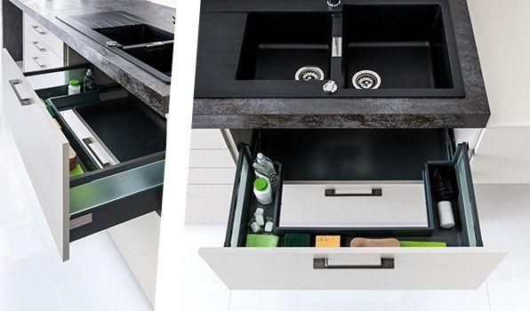 Idées Déco Pour Gagner De Lespace Blog Schmidt - Meuble de cuisine a tiroir pour idees de deco de cuisine