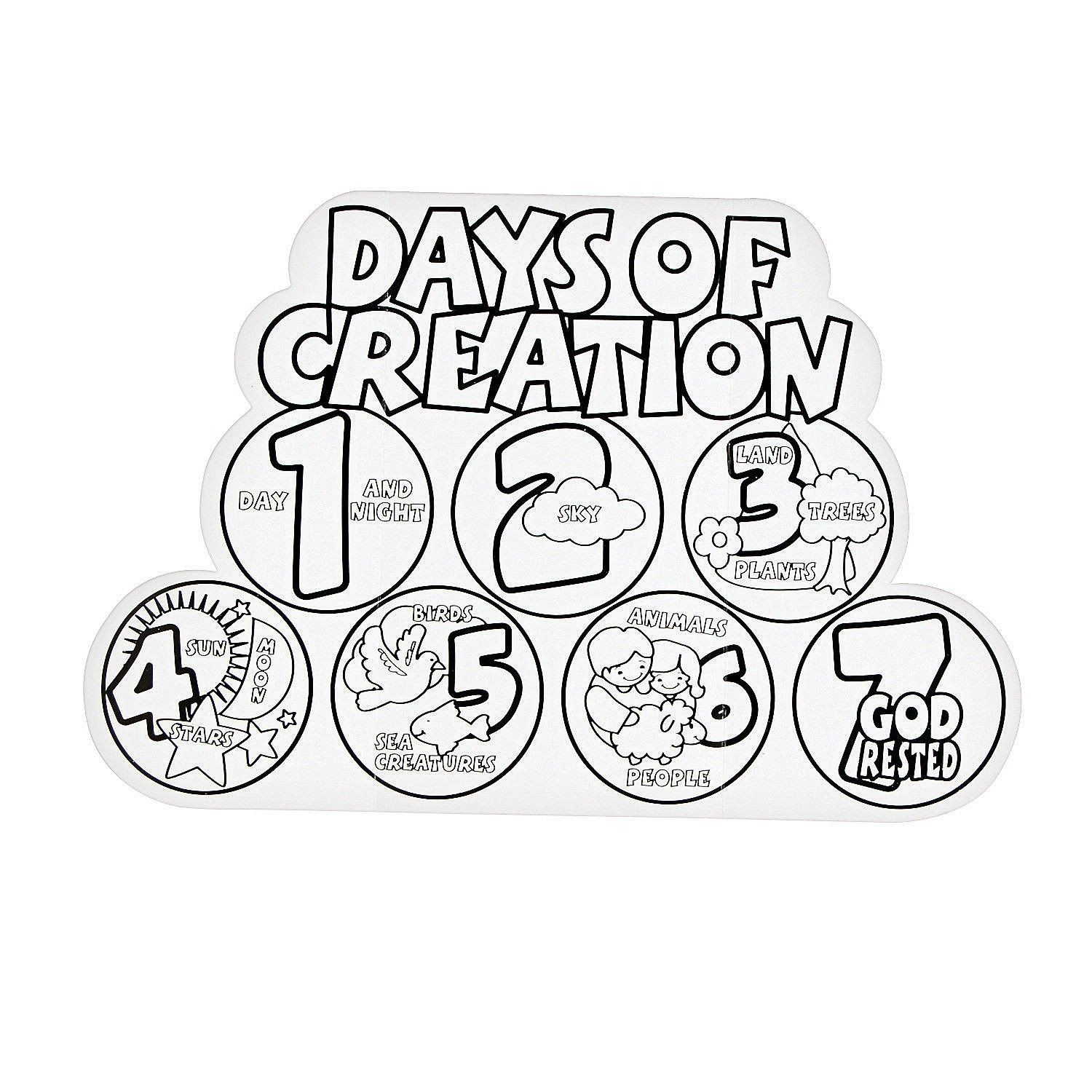 Days Of Creation Coloring Pages Best Of Free Days Creation Coloring Pages Download Free C In 2020 Creation Coloring Pages Sunday School Coloring Pages Days Of Creation