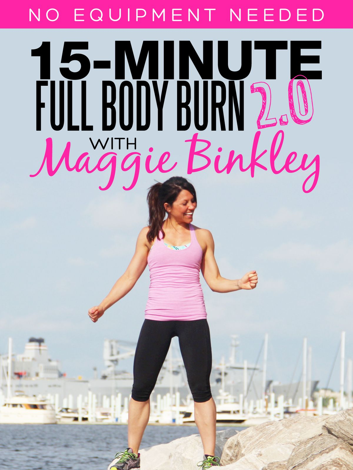 Part of SERIES 2.0 and available on Amazon, free for Prime members! Find  all of Maggie's bodyweight workouts on Amazon Video now. 15-Minute ...