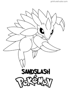 Pokemon Pictures To Print In Color