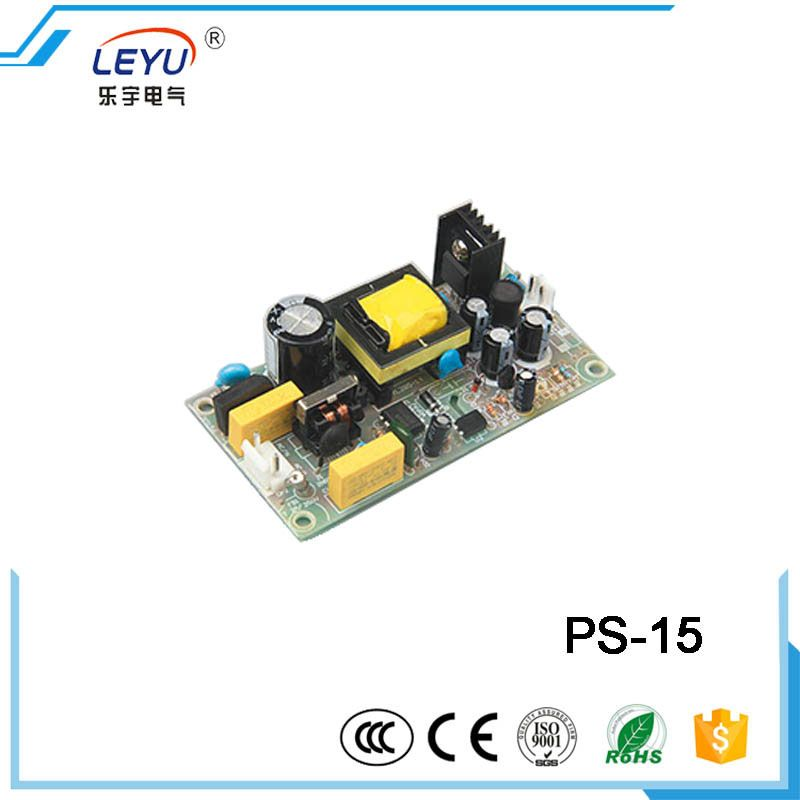 CE RoHS approved 15 watt open frame power supply real factory outlet ...