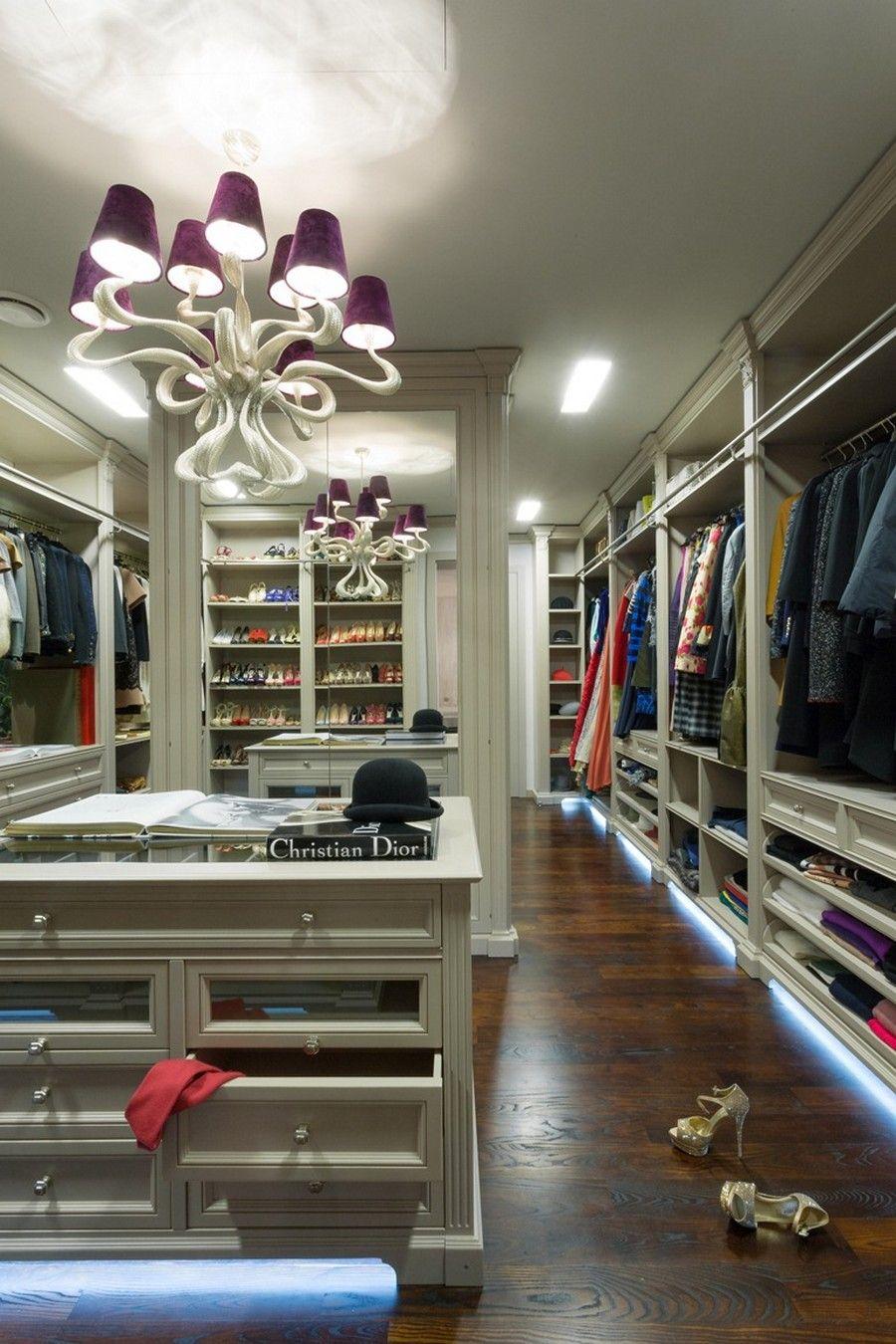 Large Walk-In Closet Designs Ideas