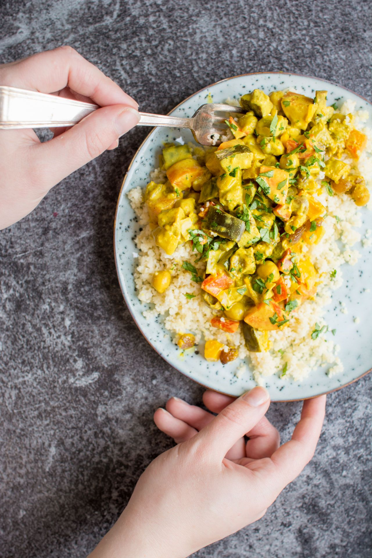 Vegetable Curry with Turmeric Coconut Sauce Recipe