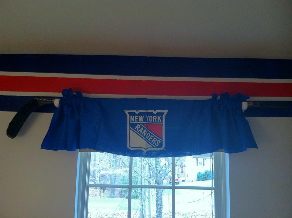 Hockey Themed Nursery Hockey Stick As Curtain Rod Nursery Themes