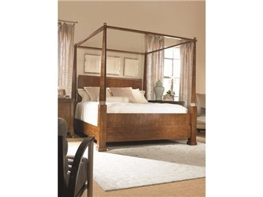 Shop for Century Furniture Poster Bed King Size 66 55H116WP