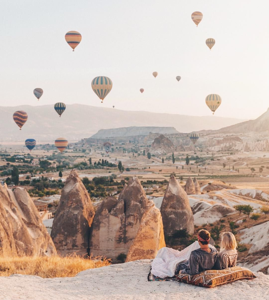 "75.8k Likes, 1,163 Comments - JACK MORRIS (@doyoutravel) on Instagram: ""Never an average morning in Cappadocia - Next stop ✈︎ B A R C E L O N A 🇪🇸"""