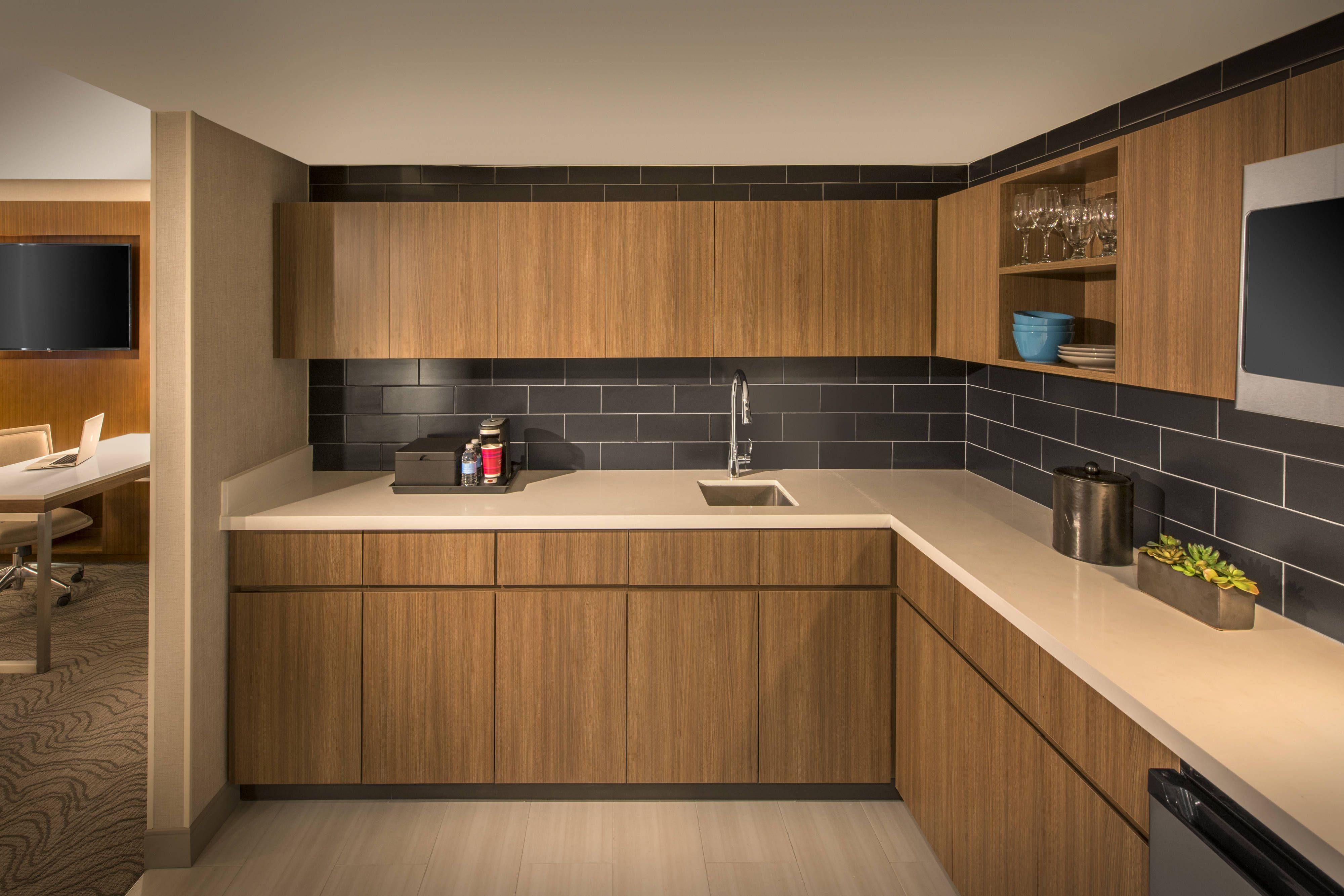 Denver Marriott Tech Center Studio Suite Kitchen #travel ...