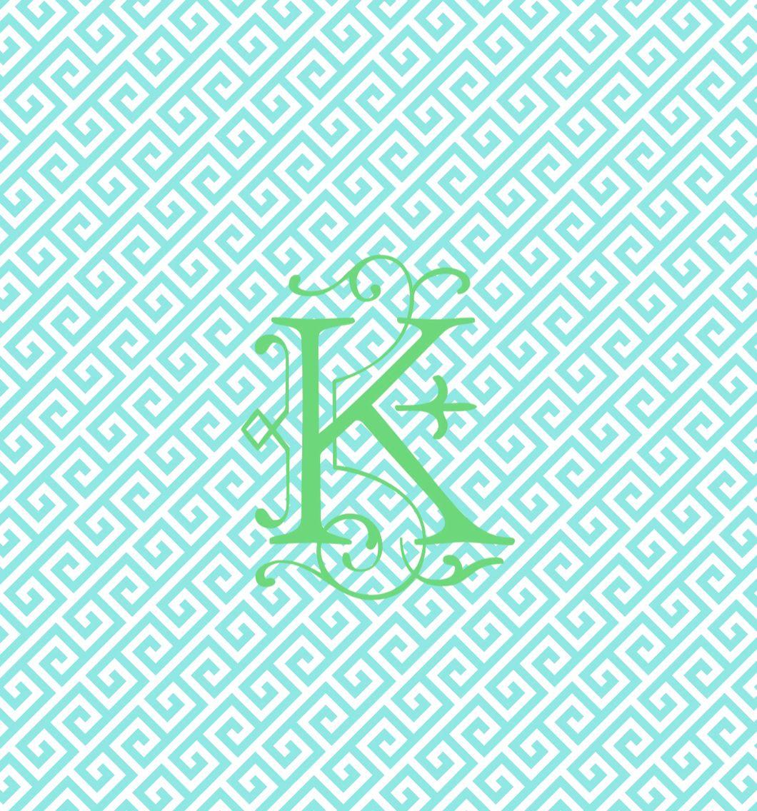 ..K.. Monogram I made Monogram wallpaper, Monogram maker