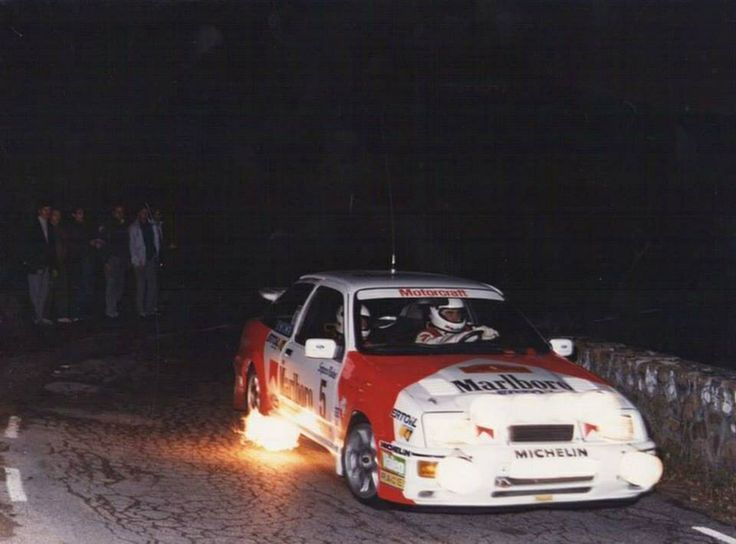 Carlos Sainz Luis Moya Ford Sierra Xr4 Cosworth Coche De Rally
