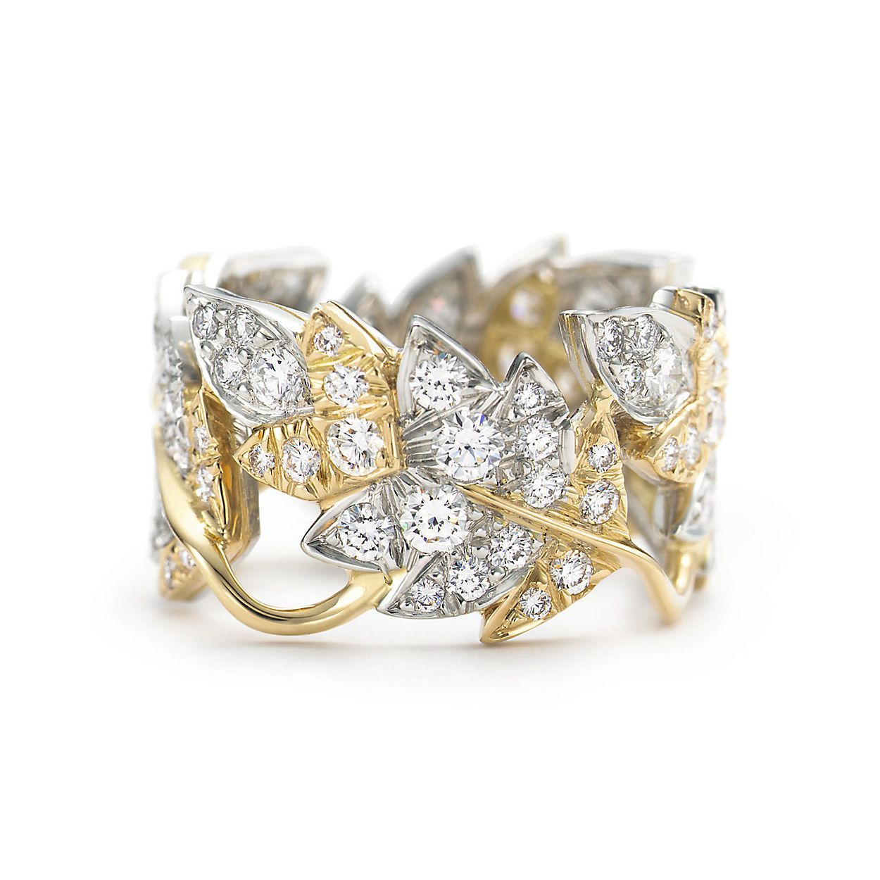 Tiffany & Co. Schlumberger® Four Leaves ring in 18k gold