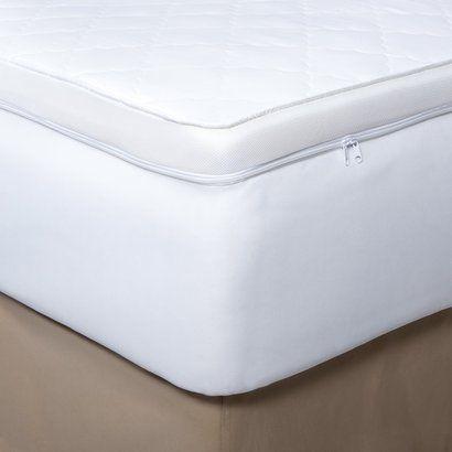 Fieldcrest Luxury Supreme Memory Foam Mattress Topper Opens In A
