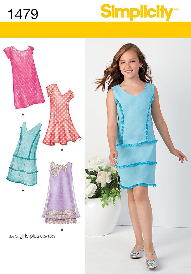 Simplicity 7834 XENA Meg & Hercules Childrens Costume Pattern ...