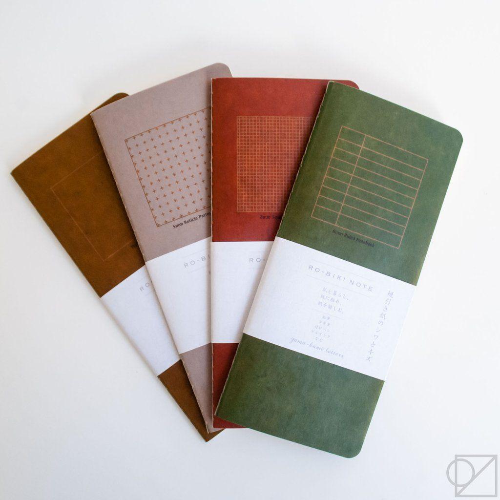 Yamamoto Paper RO-BIKI 2mm Grid Notebook