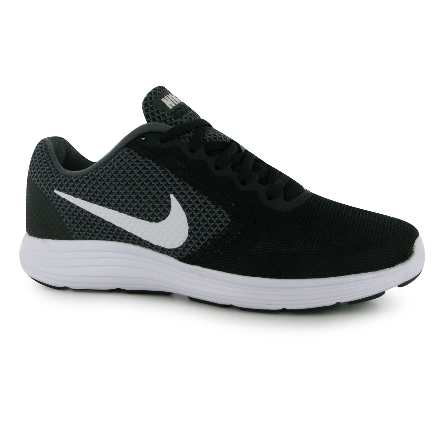 Run in total comfort when you slip into these Nike Revolution 3 Mens  Running Shoes, available online now!