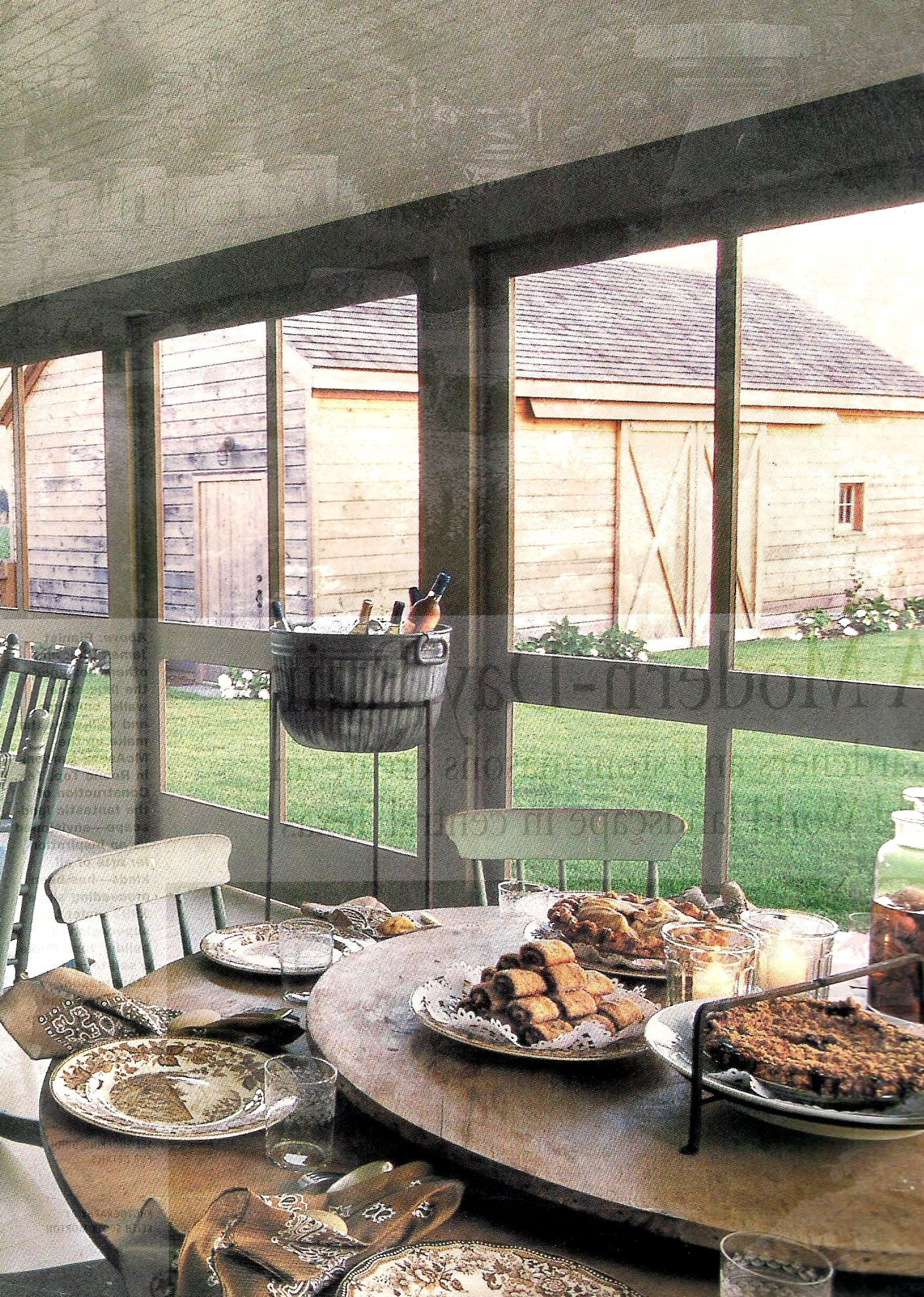 Screened porch party breakfast for my imaginary cabin pinterest